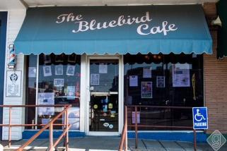 """""""Bluebird Cafe"""" in Nashville, Tennessee. (Stacey Wilson)."""