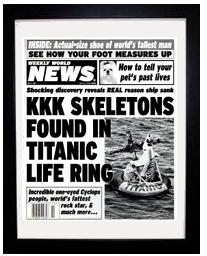 FC-KKK skeletons in titanic life ring