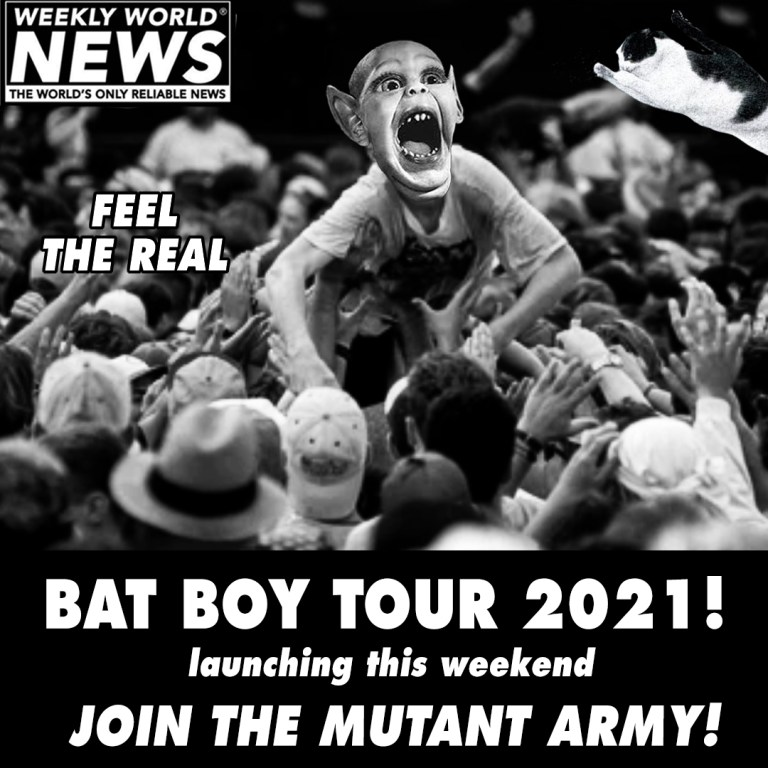 Bat Boy Join The Mutant Arm