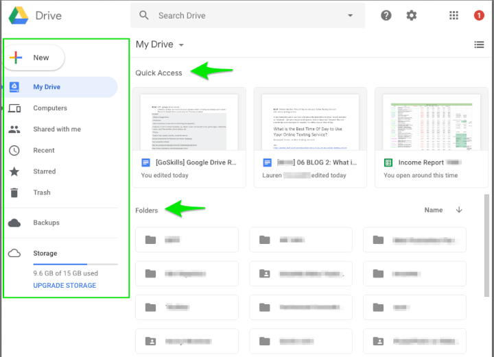 Google Drive overview