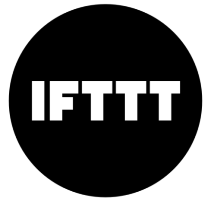 IFTTT logo in black and white describing the best mobile apps for freelancers