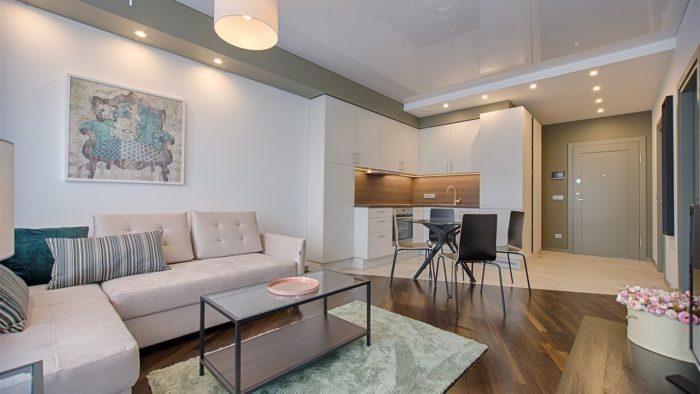 un appartement style contemporain