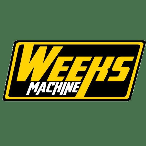 weeks machine stickers