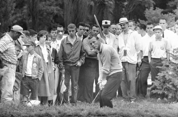 """His success and his kindness led to fans labeling Palmer as the """"King"""" of the game of golf."""