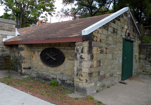 Surviving building of Allegheny Arsenal - Photo Wikipedia