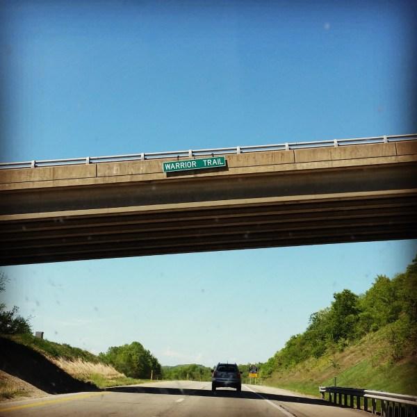 I-79 Northbound.