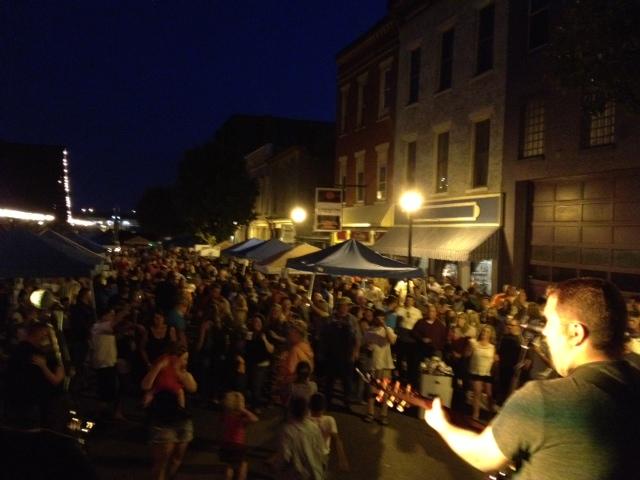 Wheeling - Centre Market - Tim Ollum-crowd