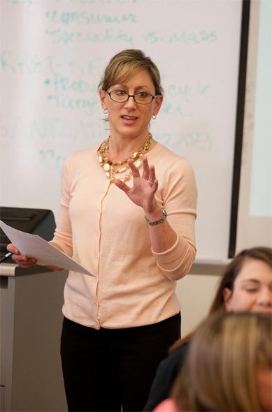 Carrie White - teaching