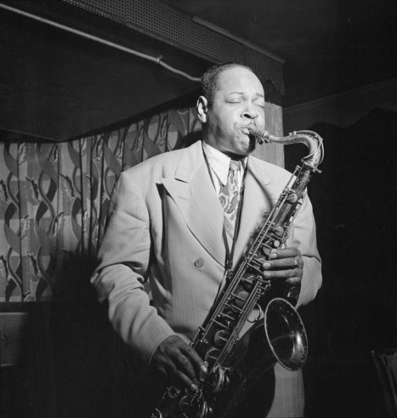 """""""Chu was a genius."""" Coleman Hawkins (to Dan Morgenstern) William P. Gottlieb - Photographs from the Golden Age of Jazz"""