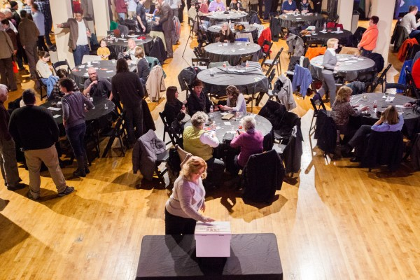 """A crowd of more than 150 local folks gathered inside the Capitol Ballroom for the third """"Show of Hands"""" last fall. The doors open at 5:30 p.m. on Feb. 12."""