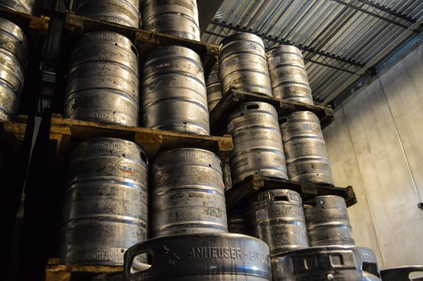 Several storage areas within the distributor are filled with kegs of draft beer for sale to local taverns and individuals, as well.