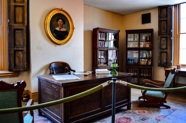 """This office was once occupied by the """"iron judge of West Virginia,"""" federal Judge John Jay Jackson, Jr."""