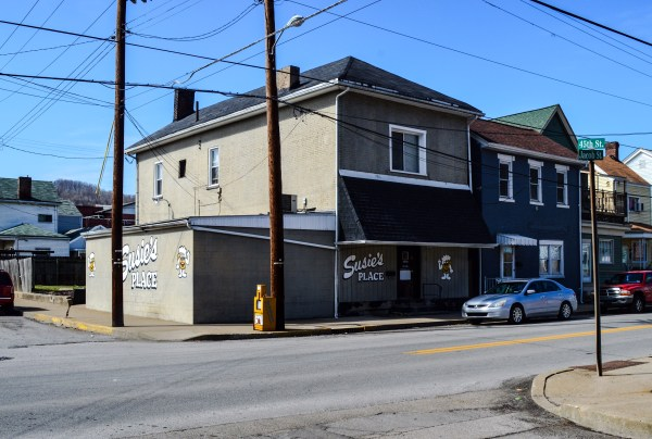 """Susie's Bar is a great South Wheeling Tavern today, but it was known as the """"Wooden Nickel"""" during the days the Hankish organization the gambling action that took place inside."""