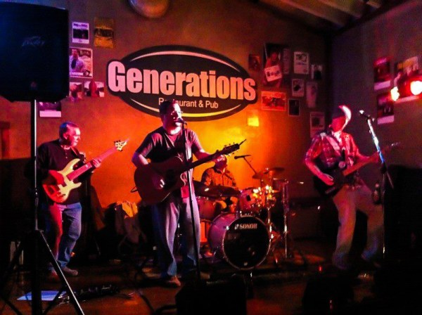 The Tim Ullom Band still unites for the occasional full-band shows at local establishments like Generations in Wheeling.