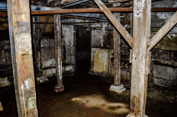 """""""The Hole"""" in the prison's basement."""
