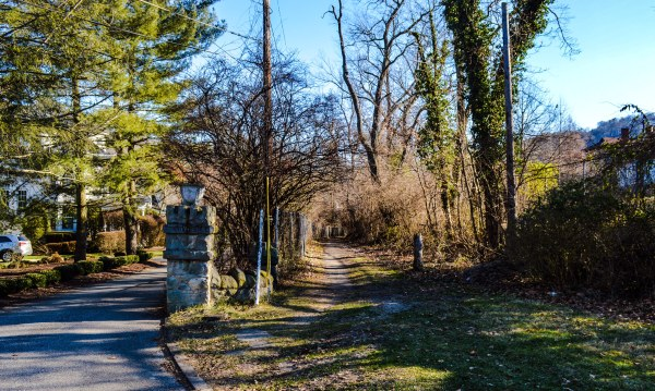 """""""The Path"""" in Woodsdale is a popular trek for walkers, runners, and bicyclists, but the gravel stretch is in need of maintenance."""