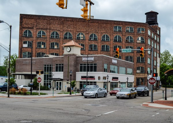 Also added to the Wheeling campus was this strcuture that houses the Student Union and Barnes and Noble bookstore> This new building opened the summer of 2013 across from the ATC.