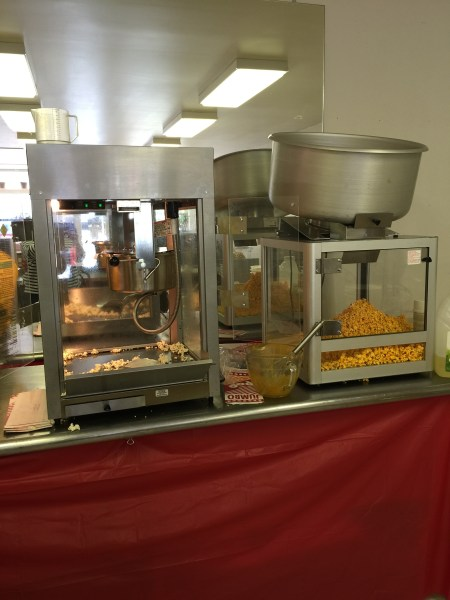 Mmm ... Popcorn offers five regular flavors and two special tastes per day.
