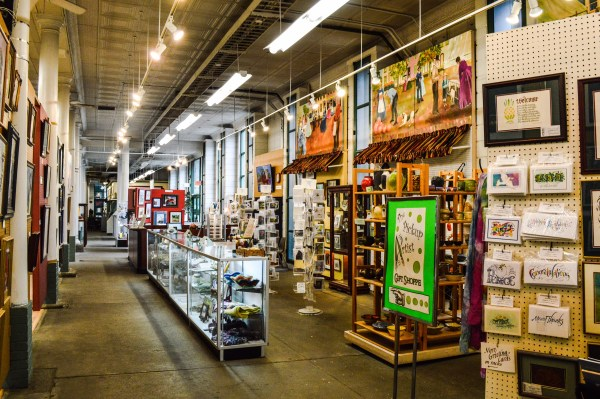 Artworks Around Town is a gallery that concentrates on displaying and selling the works of local artists.