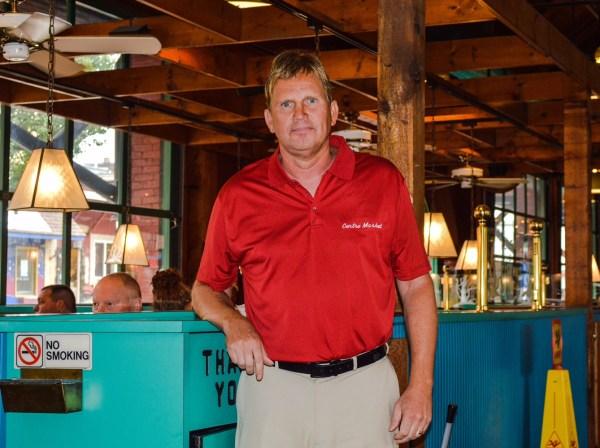 Centre Market manager Kurt Zende also serves as an economic development specialist for the city of Wheeling.