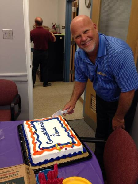 After more than 30 years working for the city of Wheeling, Palmer accepted a position with the United Way.