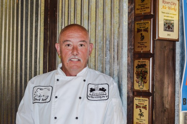 Tom McCardle has been the chef at River City Restaurant for more than a decade.