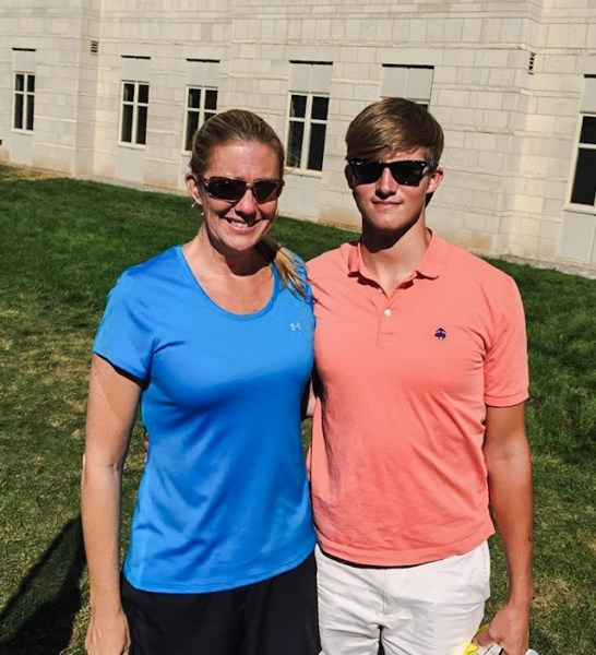 Storch was emotional while delivering her son Seth to the University of Kentucky in late-August.