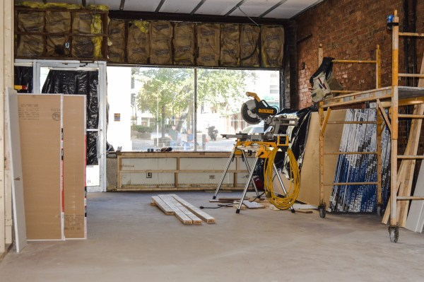 The interior of the former Dinner Bell will be ready by mid-October.