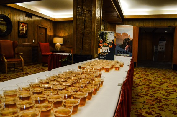 Craft beer was one of a plethora of topics covered during the Governor's Conference at Wilson Lodge.