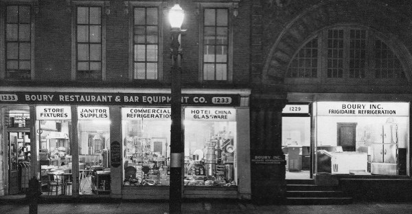 The history of the Boury business dates back to 1912 because that is when the father of George, Mike, and Ellis immigrated to Wheeling and opened a business.