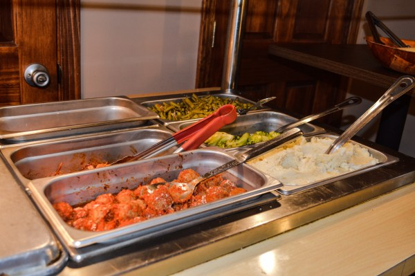 Stadiums offers a lunch buffet Tuesday through Friday from 11 a.m. until 2 p.m.