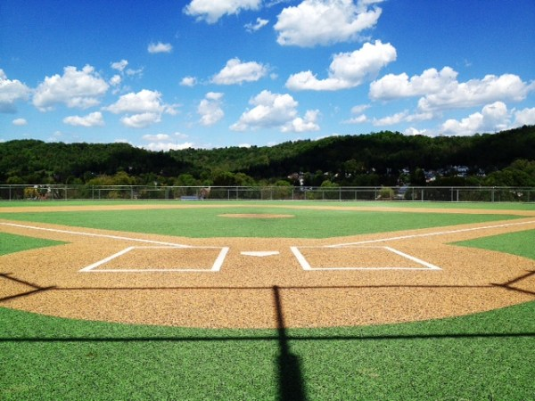 The Miracle League Field at the J.B. Chambers/I-470 Complex in Elm Grove.
