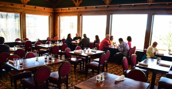 The Ihlendfeld Dining Room inside Oglebay's Wilson Lodge offers a delicious Sunday brunch each week.