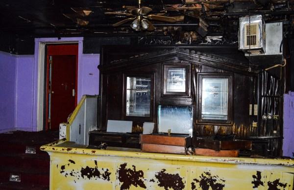 The original bar remains inside today.