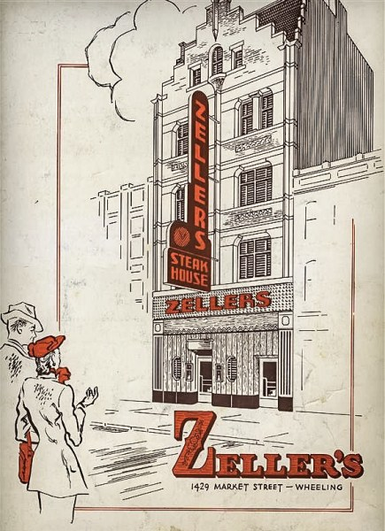 Zellers Steak House opened in 1941 and closed its doors in late 1948.