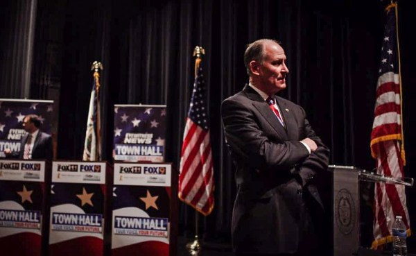 Kessler agreed to appear at as many Town Hall forums and public debates as he was invited.