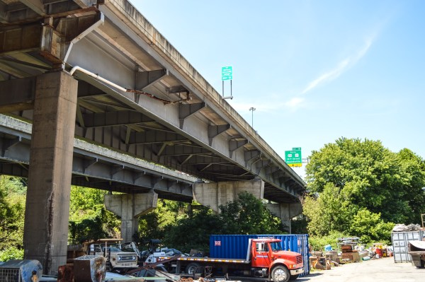 """The """"Fulton bridge,"""" the district engineer said, needs completely replaced."""