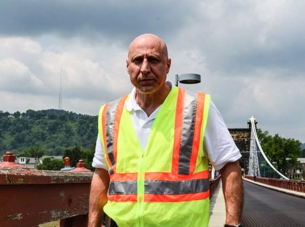 W.Va. DOH District Engineer Gus Suwaid.