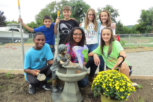 Locally grown food and gardening is an initiative that will continue in the school district.