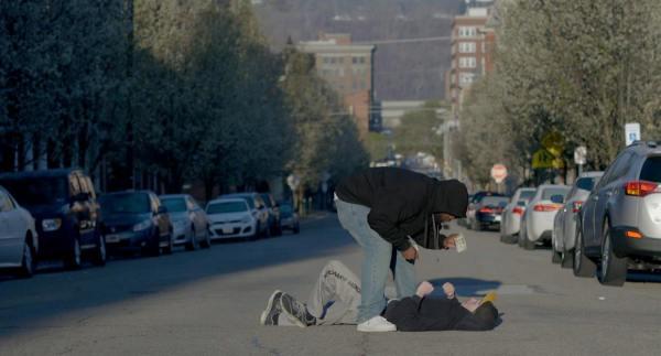 The film was shot in the East Wheeling neighborhood.