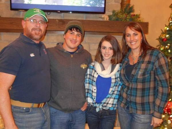 The Duffys - Tommy, Liam, Maurin, and Tracy.