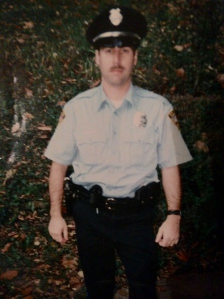 His law enforcement career began with the U.S. Army Reserves and then he joined the Wheeling Police Department in 1995.
