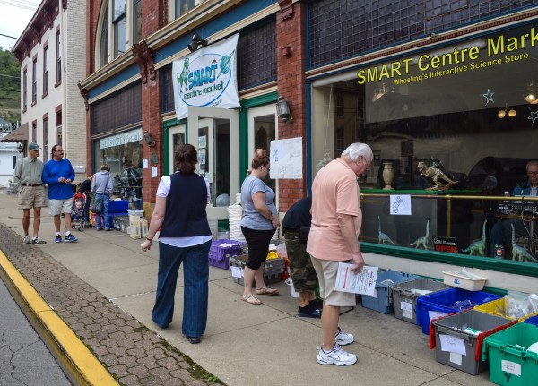 SMART Centre Market has staged special sales on the open market Saturdays.