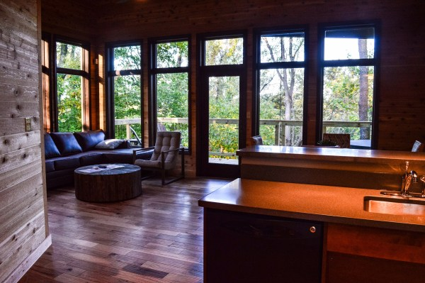 One of the new cabins is a two-bedroom unit that is completely ADA compliant.
