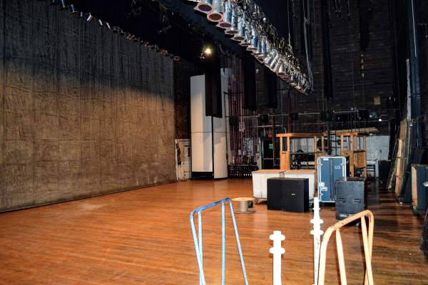 A single light is always kept on near the Capitol Theatre stage so the souls of any past performers will be able to use the stage during the overnight hours.