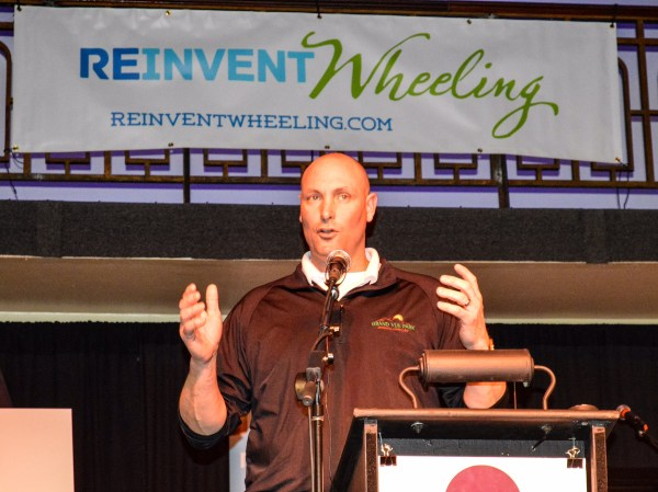 """Grand Vue Park General Manager Craig White took advantage of a few minutes to inform the """"Show of Hands"""" audience about new additions to the Marshall County facility."""