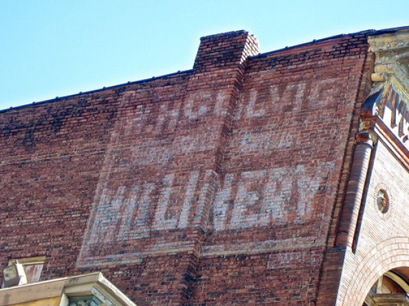 The former Colvig's Millinery at 1056 Main St.