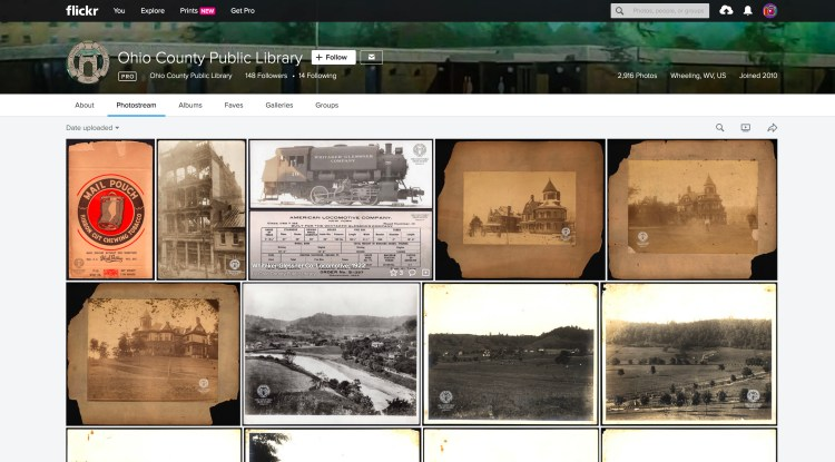 Ohio County Public Library Flickr Page