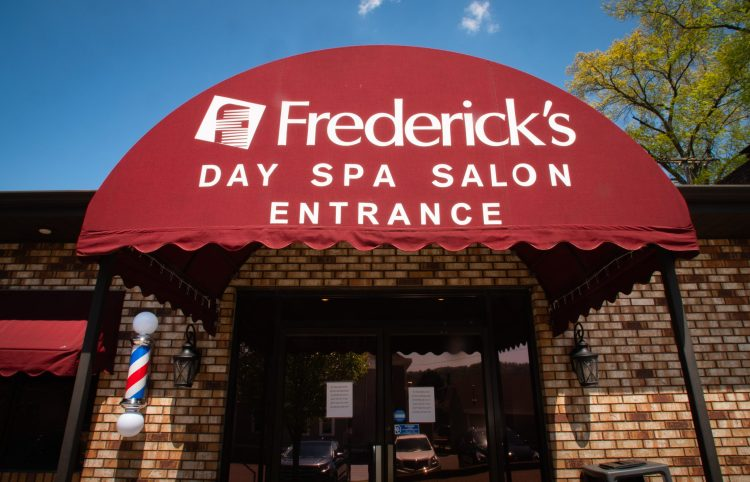 Frederick's salon