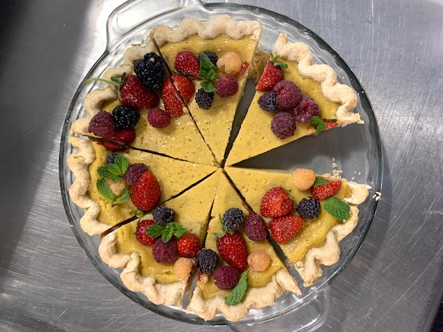 Paw Paw Buttermilk Chess Pie